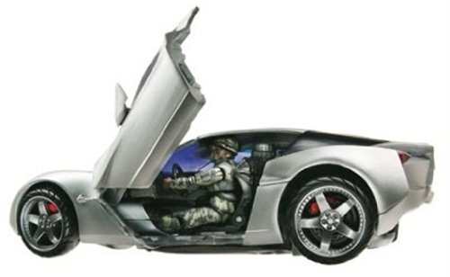 Hasbro 85307 - Transformers Human Alliance - Sideswipe mit Sergeant Epps
