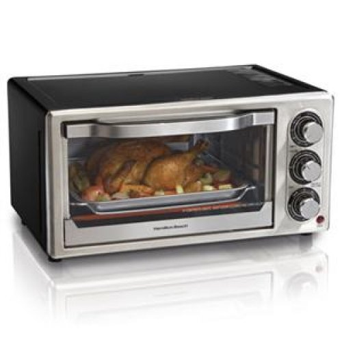 Hamilton Beach 31512 6 Slice Toaster Oven Broiler With Convection front-119539