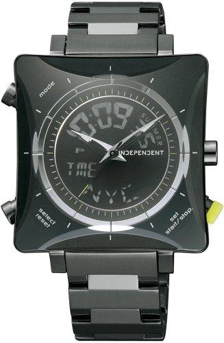 INDEPENDENT (インディペンデント) 腕時計 ナードフィクサー ワールドタイム ITX21-5001 メンズ