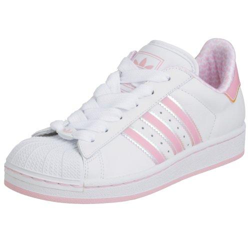 Adidas Originals Superstar 2 White/Pink Womens