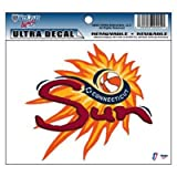 CONNECTICUT SUN OFFICIAL LOGO 4&quot;x6&quot; ULTRA DECAL WINDOW CLING