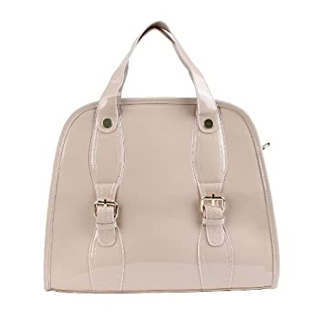 Scarleton Designer Satchel H118508 - Beige. Please note: actual color may vary from picture due to computer settings.
