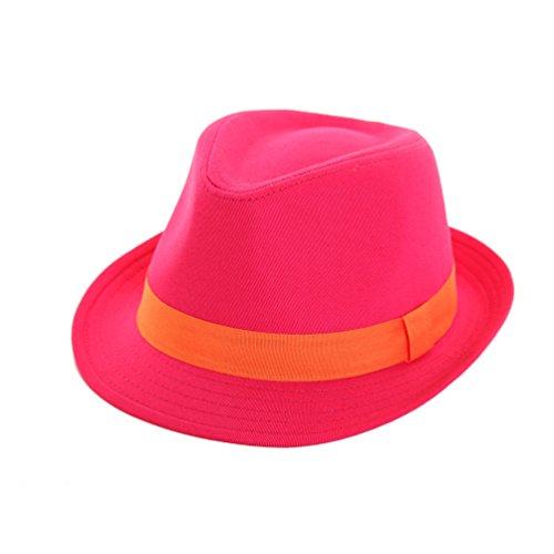 dannii-matthews-herren-fedora-trilby-gr-large-orange-rosa-orange