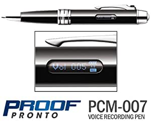ProofPronto PCM-007 Pen Voice Recorder by MemoQ (2GB)