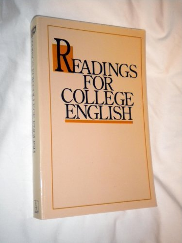 Readings for College English (1990 publication)