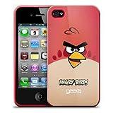 Gear4 - Angry Birds - Housse étui coque pour iPhone 4 - Rouge