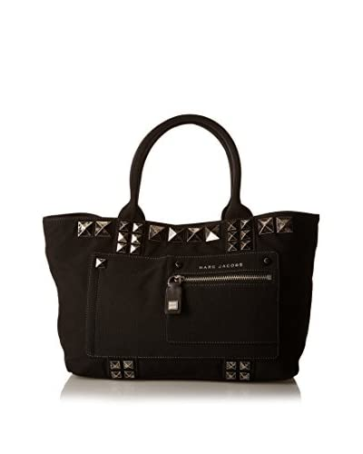 Marc Jacobs Bolso asa de mano Canvas Shopping W Studs