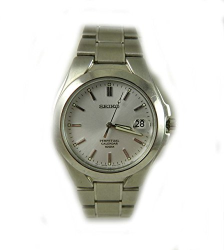 GENTS SEIKO 50 M STAINLESS STEEL DATE DIAL WATCH NEW