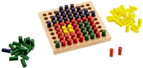 HABA Color Peg, Color Pictures Game - 1