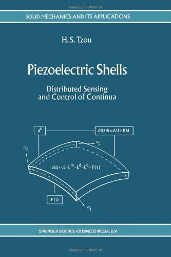 Piezoelectric Shells: Distributed Sensing And Control Of Continua (Solid Mechanics And Its Applications)