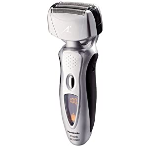 Panasonic ES8249S Nanotech 4-Blade (Arc 4) Electric Shaver with Vortex Cleaning System
