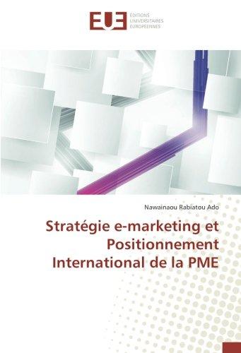 Stratégie e-marketing et Positionnement International de la PME