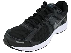 Nike Men's NIKE DART 10 RUNNING SHOES 10 Men US (BLK/MTLC CL GRY/ANTHRCT/WHITE)