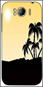 Snoogg Beautiful Summer Backgroun Designer Protective Back Case Cover For HTC Sensation Xl