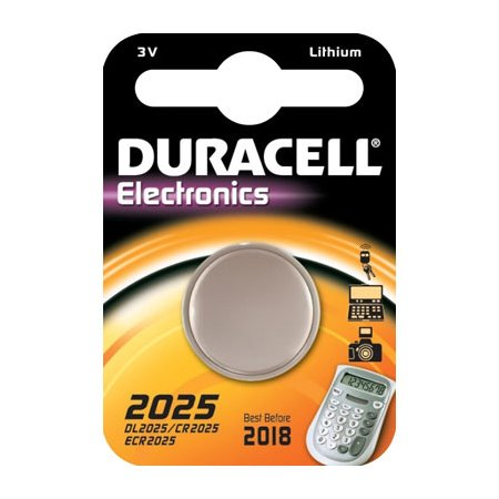 Duracell CR2025 Lithium Piles Bouton-C1