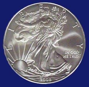 2009 U.S. Silver Eagles - Gem Brilliant Uncirculated