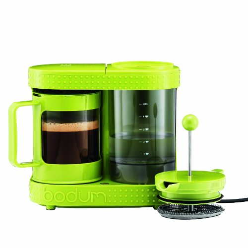 Bistro 4-Cup Electric French Press Coffeemaker, 0.5-Liter 17-Ounce, Green (Bodium Electric French Press compare prices)