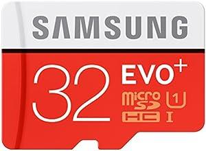 Samsung EVO+ - Tarjeta de memoria microSD de 32 GB