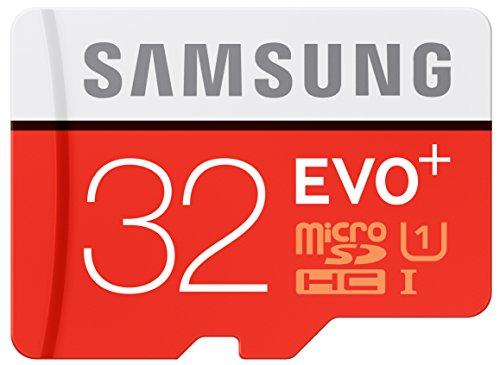 Samsung Evo Plus MB-MC32DA Scheda Micro SDHC, 32 GB, Arancio