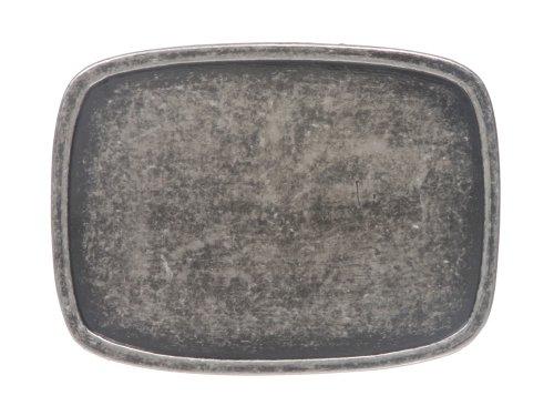 Rectangular Plain Belt Buckle