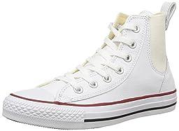 Converse Women\'s Chuck Taylor Chelsee Hi White/Cloud Basketball Shoe 9 Women US