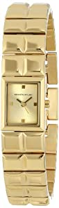Kenneth Jay Lane Women's KJLANE-3201 3200 Series Analog Display Japanese Quartz Gold Watch