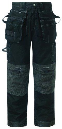 Eisenhower multi-pocket pro trouser COLOUR Black SIZE 32T