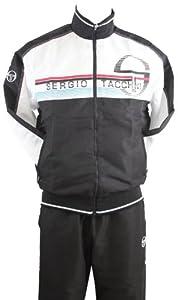 Tacchini Herren Trainingsanzug NOIR/BLANC S