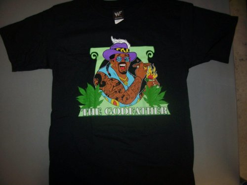 "GODFATHER ""FATTY"" WWF VINTAGE T-SHIRT SIZE LARGE"