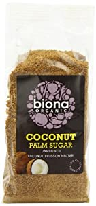 Biona Organic Coconut Palm Sugar 250 g (Pack of 3)