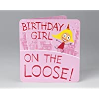 Party Girl Alert Birthday Card