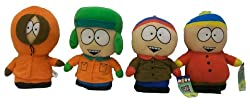 South Park 10&quot; Plush Cartman, Kyle, Stan and Kenny Set