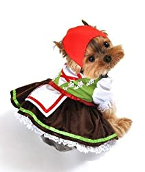 Pet Dog Cat Oktoberfest Beer Girl Xmas Gift Fancy Dress Costume Outfit Clothes from AA