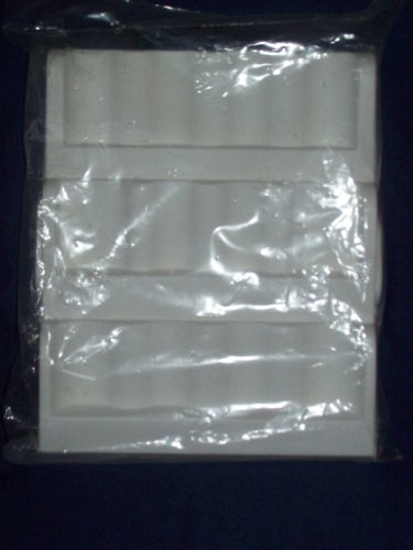 White Plastic Spice Rack or Pill Drawer Organizer