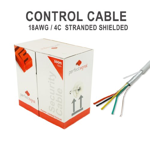 Security Wire Burglar Alarm 18/4 500FT Strand...