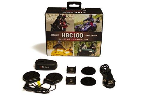 Uclear Hbc100 Sports Helmet Communicator Bluetooth Headset