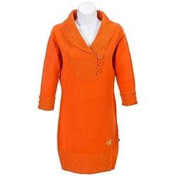 Macca Tunic Sweaters Orange - Medium