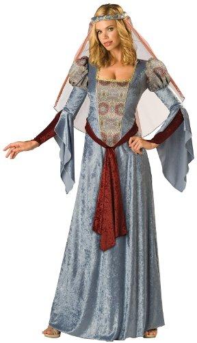 InCharacter Costumes Women's Maid Marian Costume, Blue/Burgundy/Grey, Small