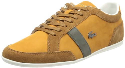 Lacoste Mens Alisos 15 Low Top Brown Braun (dk tan) Size: 44.5