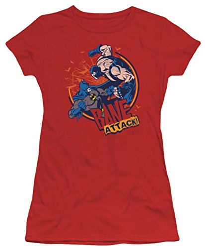 Batman Bane Attack Ladies Junior Fit T-Shirt