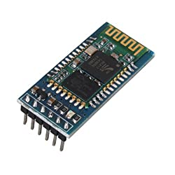 Serial Bluetooth RF Transceiver Module RS232 for Arduino, Built in Antenna