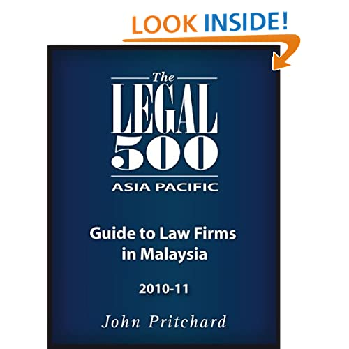 New Zealand - Guide to Law Firms 2010-11 The Legal 500 and John Pritchard