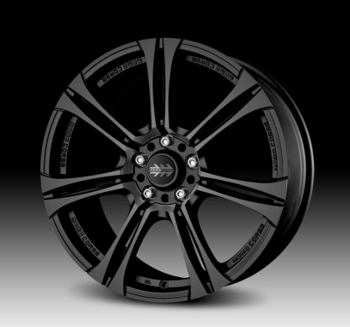 41LcFSYMiBL MOMO Car Wheel Rim   Next   Matte Black   18 x 8 inch   5 on