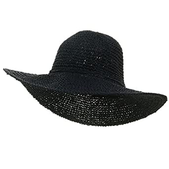 Ladies Hand Crocheted Hats-Navy