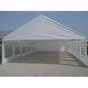 Shade Tree 20′ x 40′ Heavy Duty Event, Party, Wedding Tent, Canopy, Carport, w/Sidewalls