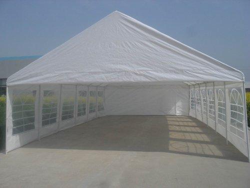 Shade Tree 20' x 40' Heavy Duty Event, Party, Wedding Tent, Canopy, Carport, w/Sidewalls