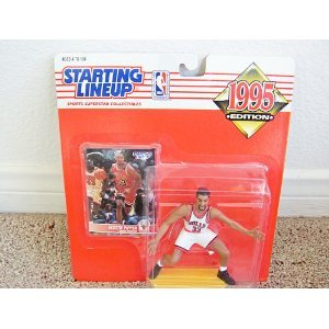 Buy Low Price Hasbro 1995 NBA Staring Lineup – Scottie Pippen Figure (B000Q836A2)
