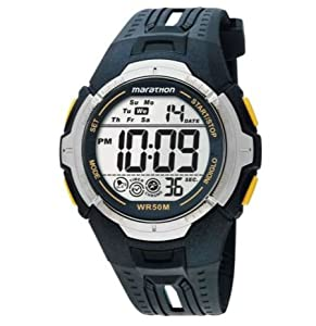 Brilliant Design Timex Men's Marathon Digital Watch With Date And Day Display