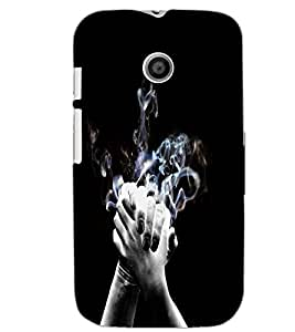 MOTOROLA MOTO E HANDS Back Cover by PRINTSWAG
