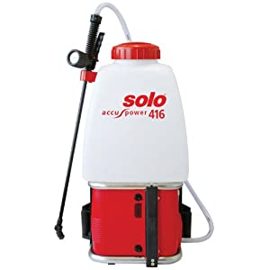 Solo 38 65 Psi 20l Battery Operated Pressure Sprayer Garden Outdoors